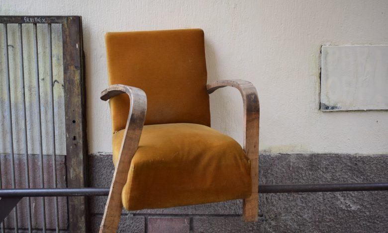 stoel bekleden