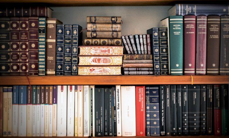 antieke boekenkast